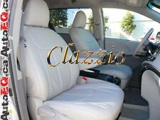 2011-2014 TOYOTA SIENNA 8 PASSENGERS | CLAZZIO LEATHER SEAT COVER (1+2+3 ROWS)