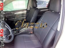 2014-2016 TOYOTA HIGHLANDER (2 ROWS) | CLAZZIO LEATHER SEAT COVER (1ST+2ND ROWS)