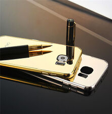 Luxury Ultra-thin Mirror Effect Metal Case For Galaxy S6/ Edge/Plus& S7/ S7 Edge