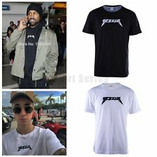 Yeezus Season Casual Short Sleeve T-shirts Kanye West Streetwear Hip Hop Shirt