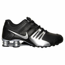 New Mens NIKE Shox Current Black Silver Running Shoes 633631 015