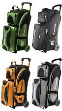 Bowling bag 3 Ball Scooter Brunswick ick Flash for 3 Bowling Balls Bowling shoes