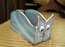 Handmade Stained Glass BOX (Business Card Holder) CAT (BXC38)