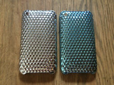 HARD PLASTIC BACK CASE / COVER FOR APPLE iPHONE 3 3GS - GLOSSY PRISM DESIGNS