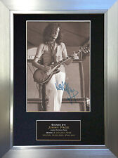 JIMMY PAGE Led Zeppelin Signed Autograph Mounted Photo Repro A4 Print 91