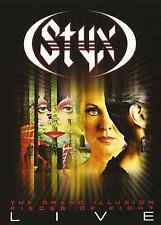 NEW Styx: The Grand Illusion / Pieces Of Eight - Live...New DVD  Free Shipping