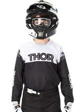Thor Black 2016 Phase Kids MX Jersey