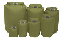 Exped Waterproof Fold Olive Dry Bag Lightweight Camping Fishing Sack