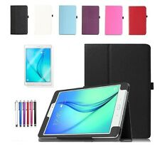 "UK Smart Leather Case Cover For Samsung Galaxy Tab E 9.6"" Inch SM-T560/T565"