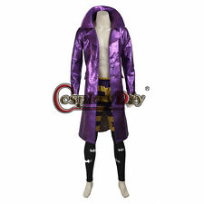 Batman Suicide Squad The JOKER fancy dress Cosplay Costume Halloween outfit