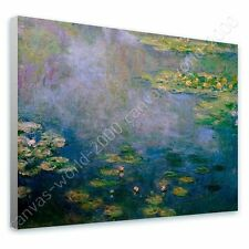 CANVAS +GIFT Water Lilies Claude Monet Wall Art Posters Paints Wall Decor