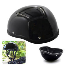Motorcycle Half Helmet ABS For Chopper Bobber Biker Riding Road Travel White