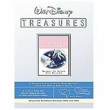 Walt Disney Treasures: Tomorrowland (DVD, 2003, 2-Disc Set, Collectible Tin Case