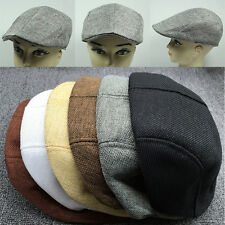 Unisex Summer Peaked  Beret Flax Cap Country Outdoors Golf Hat Fashion Newest