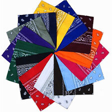 New Bandana Head wrap Cotton Head Wrap Neck Scarf Wristband Handkerchief