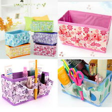 NEW Folding Multifunction Makeup Cosmetic Storage Box Container Case