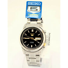 Seiko Casual 5 Automatic  Mens Analog Silver Watch SNKK17J1