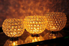 Crystal Globe Votive Tealight Wedding Centerpieces Candle Holders Pick Size