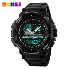 New Mens Watch Sport Quartz Analog Digital Waterproof Military Wristwatch N4R4