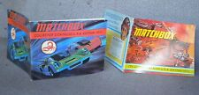 1971 AND 1972 MATCHBOX CATALOGS IN GREAT SHAPE