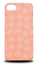 WINTER SNOW FLAKE PATTERN #2 HARD CASE COVER FOR APPLE iPHONE 7