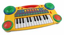"Kids Musical Keyboard Electronic Organ Piano 16"" Multi Color Instruments Record"