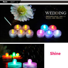 Seven Colors Flicker Light Flameless LED Tealight Tea Candles Wedding Light With