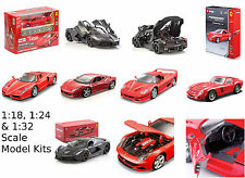 Maisto Bburago 1:18 1:24 1:32 1:43 FERRARI Model Die Cast Assembly Kit F50 F12