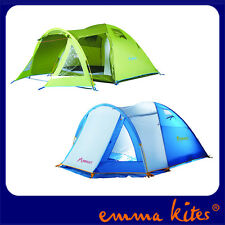 Large 4 Person Man Berth Family Tent Double Skin 4 Season Use Festival Camping