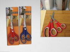 4 packs Scissors Set with Stainless Steel blades 2 pack means 8 scissors Kitchen