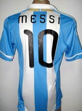 NEW!!! 2011/2013 ORIGINAL ARGENTINA HOME SOCCER JERSEY MESSI #10 SIZE LARGE