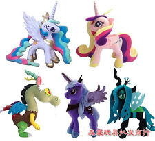 "New 13"" My Little Pony Horse Figures Stuffed Plush Soft Teddy Doll Toy Gift"