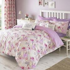 Kirstie Allsopp GRACIE Pink Patchwork Floral Duvet Set or Cushion or Curtains