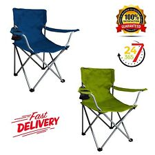 Ozark Trail Folding Chair Blue / Green Beach Camping Picnic Lawn Outdoor Travel