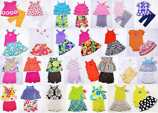 NWT Girls Outfit  Skirt Skort Short Leggings Set Carters NEW 3m 6m 9m 12m 18 24