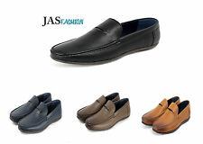 Casual Mens Boat Deck Shoes Slip On Smart Driving Moccasin Loafers Size UK NEW