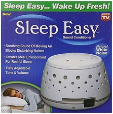 Sleep Easy Sound Conditioner White Noise Machine College Dorm Baby Relax NEW