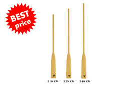 Traditional Wooden Pine Lifeboat Oars Paddles 210-240 Rescue Boat Launch 2 pcs.