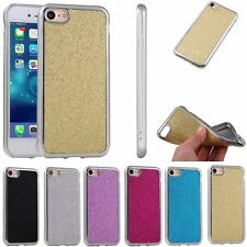 Bling Ultra-Thin Soft TPU Rubber Bumper Case Cover For Apple iPhone 7 / 7 Plus