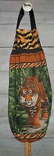 Tigers Jungle Leaves Plastic Grocery Bag Rag Sock Holder Organizer HCF&D