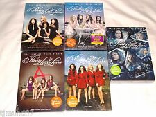 Pretty Little Liars Seasons 1-5,1 2 3 4 5,Dvd,ABC Family,New & Sealed/Slipcovers