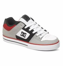 DC SHOES SKATE PURE GREY - BLACK - RED 300660 XSKR MENS UK SIZES 8 & 10