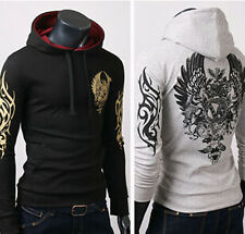 Mens Fashion Slim Fit Sexy Top Designed Hoodies Sweats Jackets Coats Shirts tops