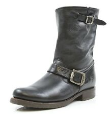 Womens Frye Veronica Shortie Slouchy Black Boots Sizes 6.5 B