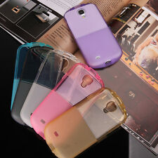 Protective For Samsung Galaxy Phone Soft Rubber TPU Back Case Cover Skin Clear