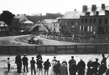 Alcyon racer French Grand Prix Dieppe 1912 Arthur Duray automobile racing photo