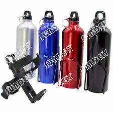 SUNDELY BIKE BICYCLE CYCLE WATER DRINK BOTTLE HOLDER CAGE SET + Drink Holder AU