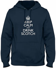 Men's Keep Calm And Drink Scotch Hoodie Sweatshirt