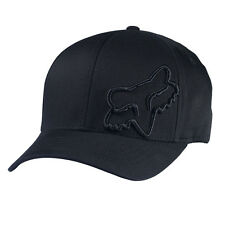 Fox Flex 45FF Cap Hat Black Not Flat Peak MX FO58379001