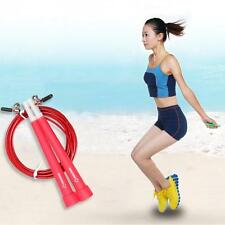 Speed Wire Skipping Adjustable Fitness Exercise Workout Jump Skipping Rope Hot!